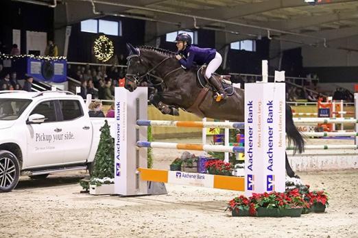 200 Sportler, knapp 20 Prüfungen, 287 Pferde: Die Aachen Jumping Youngstars haben begonnen - Fotograf: Alexander Marx