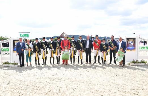 Foto: Das Siegerteam im LVM Masters der Landesverbände aus Weser-Ems - Fotograf: Fotodesign gr. Feldhaus