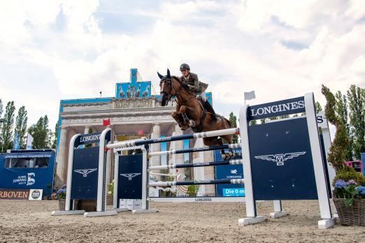 Foto: Alberto Zorzi (ITA) gewann im vergangenen Jahr den Longines Global Champions Tour Grand Prix of Berlin - Fotograf: Sportfotos-Lafrentz