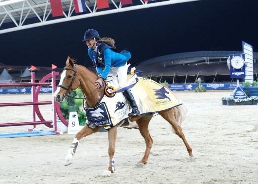 Foto: Luciana Diniz - LGCT-Gesamtsiegerin 2015 - Fotograf: LGCT