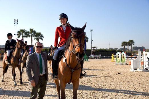Foto: Tania Moody und Reine du Very waren die glücklichen Gewinner der Master Tour am Freitag im CES Valencia - Fotograf: J. Billmann