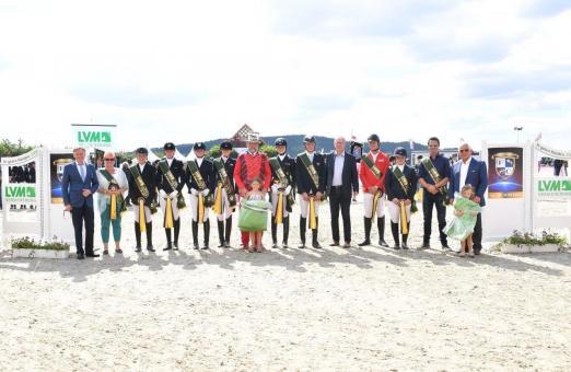 Das Siegerteam im LVM Masters der Landesverbände 2017 aus Weser-Ems. © Fotodesign gr. Feldhaus