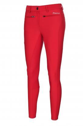 Foto: Die Reithose TESSA GRIP in der Farbe bright red - Fotograf: PIKEUR