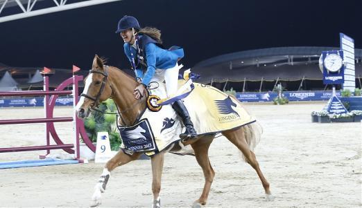 Foto: Foto: GCT-Siegerin 2015, Luciana Diniz - Fotograf: GCT/Stefano Grasso