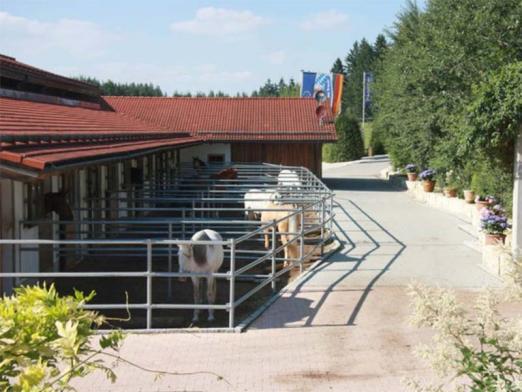 Foto: Pferdeboxen auf Gut Rosenhof - Fotograf: Röwer & Rüb